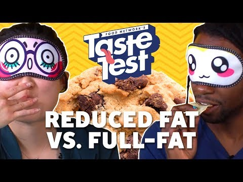Reduced Fat vs. Full-Fat Foods 💪TASTE TEST