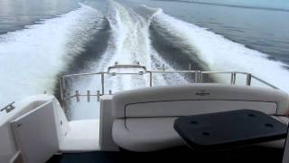 Into the Storm on the Pleasure Cruiser  Mustang 38ft Cruiser