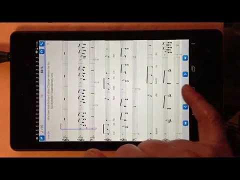 Practice Player Live Midi - play Schubert Standchen musicXml score