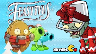 Plants Vs Zombies 2:Christmas Feastivus Pinata party 12/23!