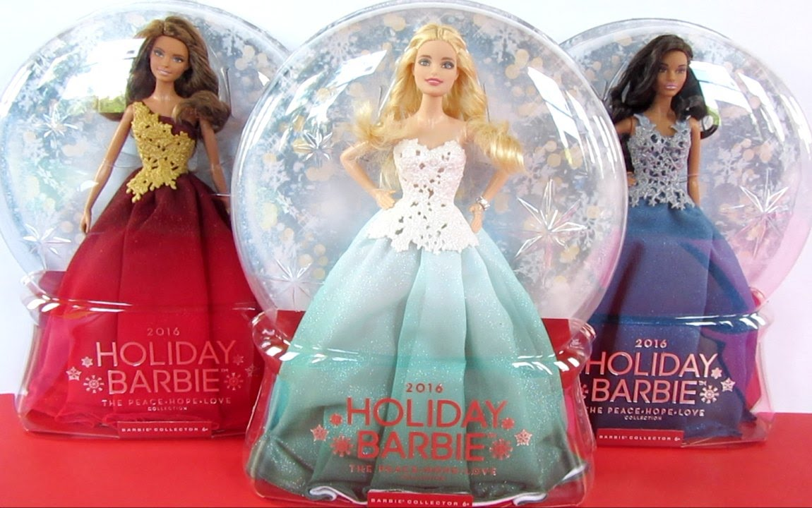 Image result for barbie holiday collection