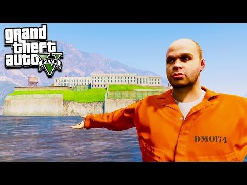 GTA 5 WELCOME TO ALCATRAZ PRISON! CAN WE ESCAPE?!? (GTA 5 Mods)