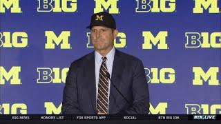Michigan Head Coach Jim Harbaugh Previews 2019 Season | 2019 B1G Football Media Days