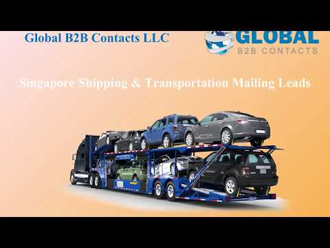 Singapore Shipping Transportation Mailing Leads