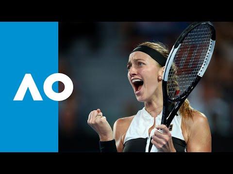 Petra Kvitova v Ashleigh Barty match highlights (QF)   Australian Open 2019