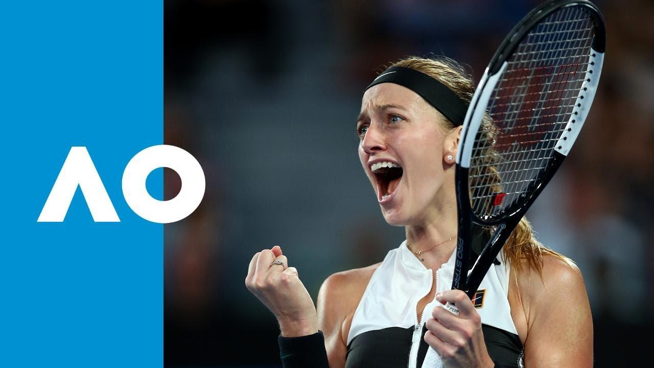 Petra Kvitova v Ashleigh Barty match highlights (QF ...