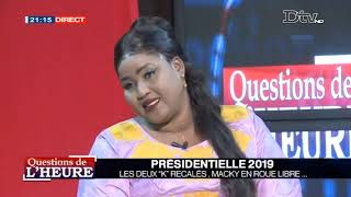 Question de l'Heure  presidentielle 2019 les deux k recales maky en roue libre 16 janv. 2019