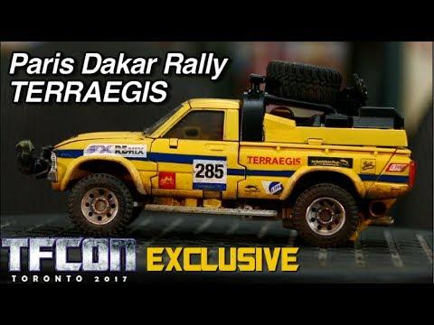 Customizing Ocular Max Diaclone Paris Dakar Rally Terraegis - [A3U REVIEW S8 E12]