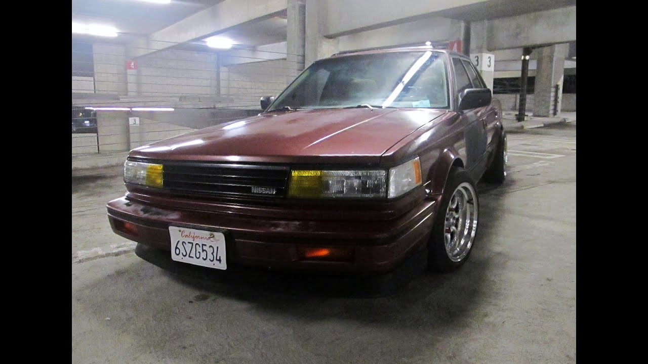 1987 nissan maxima jdm - YouTube