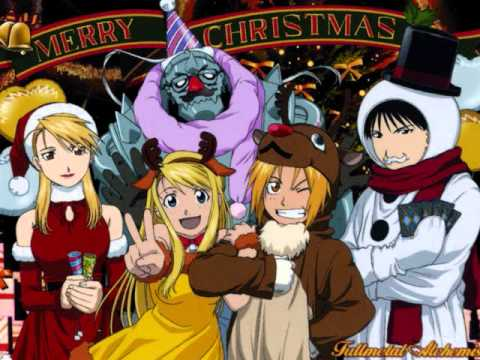 Christmas Anime.Anime Christmas Song