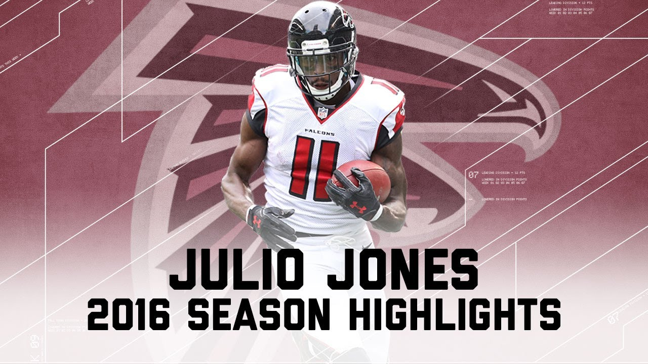 Julio Jones Best Highlights From The 2016 Season Nfl Youtube