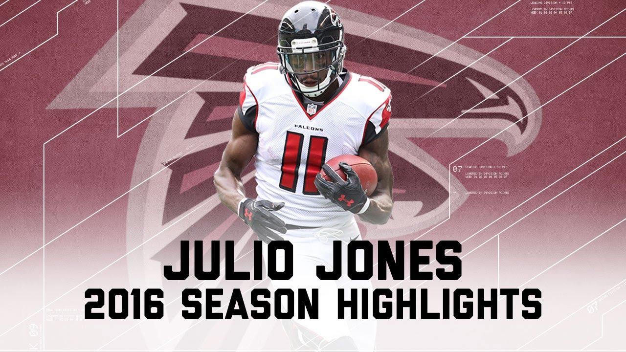Julio Jones Best Highlights From The 2016 Season Nfl Youtube