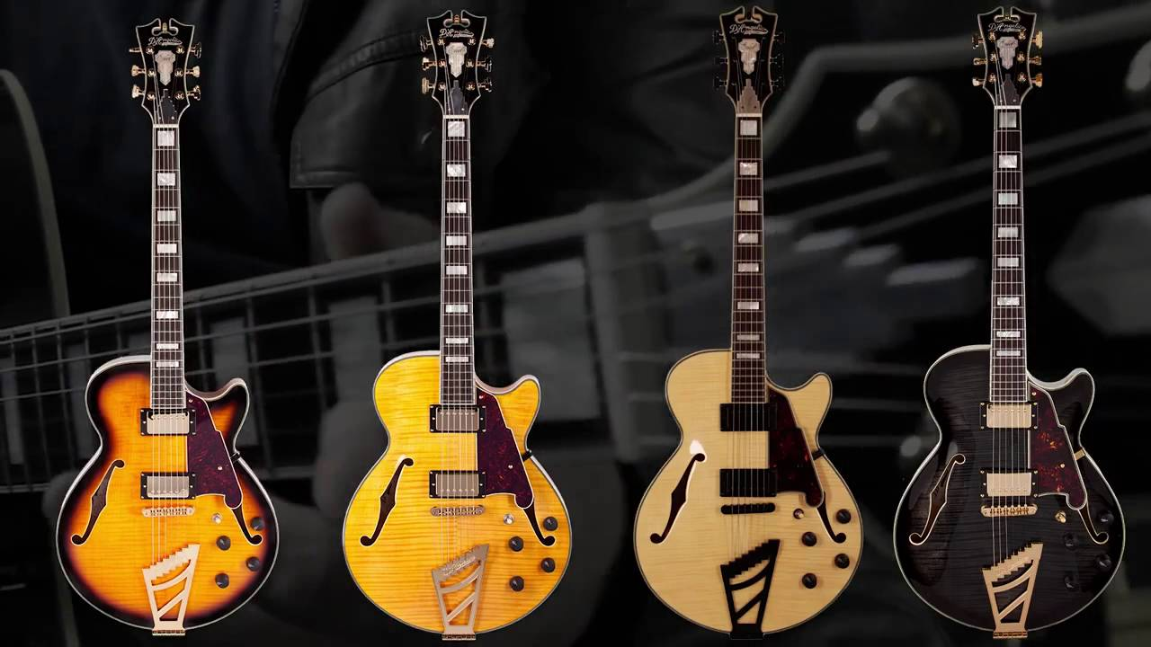 d angelico guitars ex ss youtube