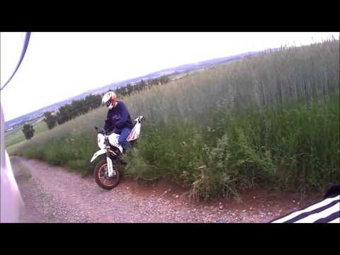 kreidler supermoto 125 yamaha dt 125 enduro action. Black Bedroom Furniture Sets. Home Design Ideas
