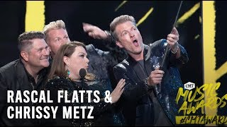 2018 CMT Music Awards | Rascal Flatts Surprise Chrissy Metz On Stage