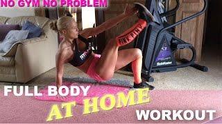 No Gym, No Problem - HunnyBunsFit Full Body/Cardio Home Workout