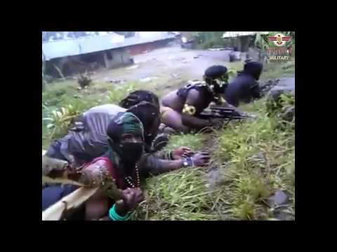 West Papua National Liberation Army fighting with Indonesian Army [Live Facebook ] 2018