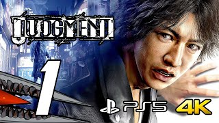 Judgment (PS5) Gameplay Walkthrough Part 1 - No Commentary, 4K 60 FPS