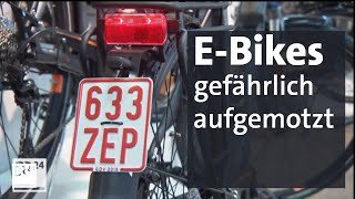 Illegaler Trend: E-Bike Tuning