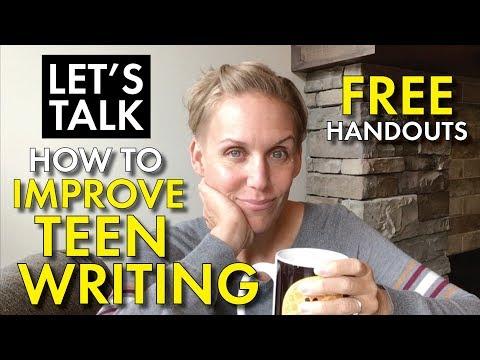 High School English Teacher Vlog: How To Teach Writing, FREE Brainstorming Organizers