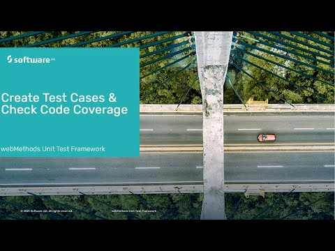 Create Test Case and Check Code Coverage using webMethods | Software AG