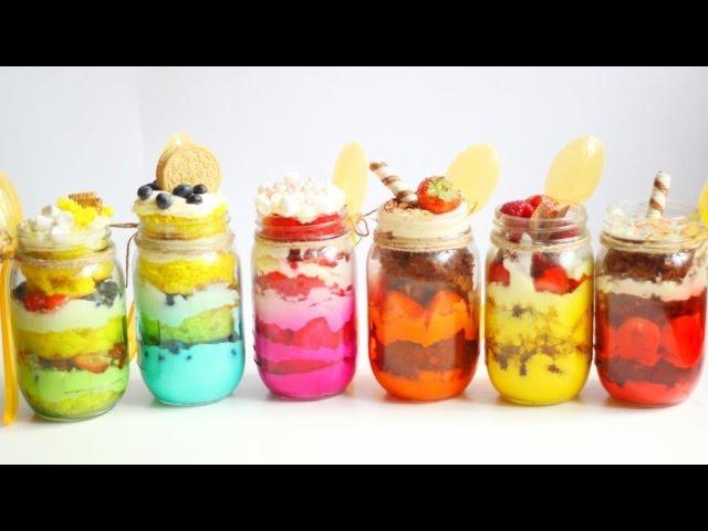 Вкусные и красивые ДЕСЕРТЫ в БАНОЧКАХ Mason Jars