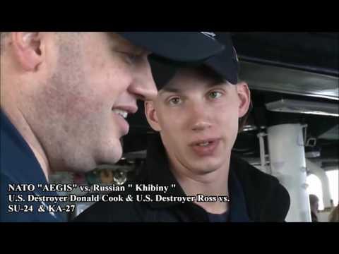 AEGIS vs. RussianKhibiny U.S. Destroyer Donald Cook & U.S. Destroyer Ross vs. ✭SU 24 & ✭KA