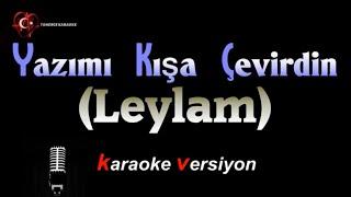 Yazımı Kışa Çevirdin - KARAOKE versiyon (HD music)