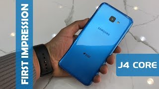 SAMSUNG GALAXY J4 CORE REVIEW