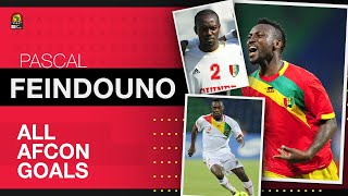 Pascal Feindouno - Guinea | All Total Africa Cup of Nations (AFCON) Goals