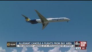 I-Team: Allegiant Air cancels six local flights