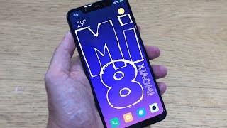 Xiaomi Mi 8 HANDS ON First Look REVIEW and Impression - English - 4K