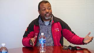 Malcolm Nance discusses new agricultural project for local vets