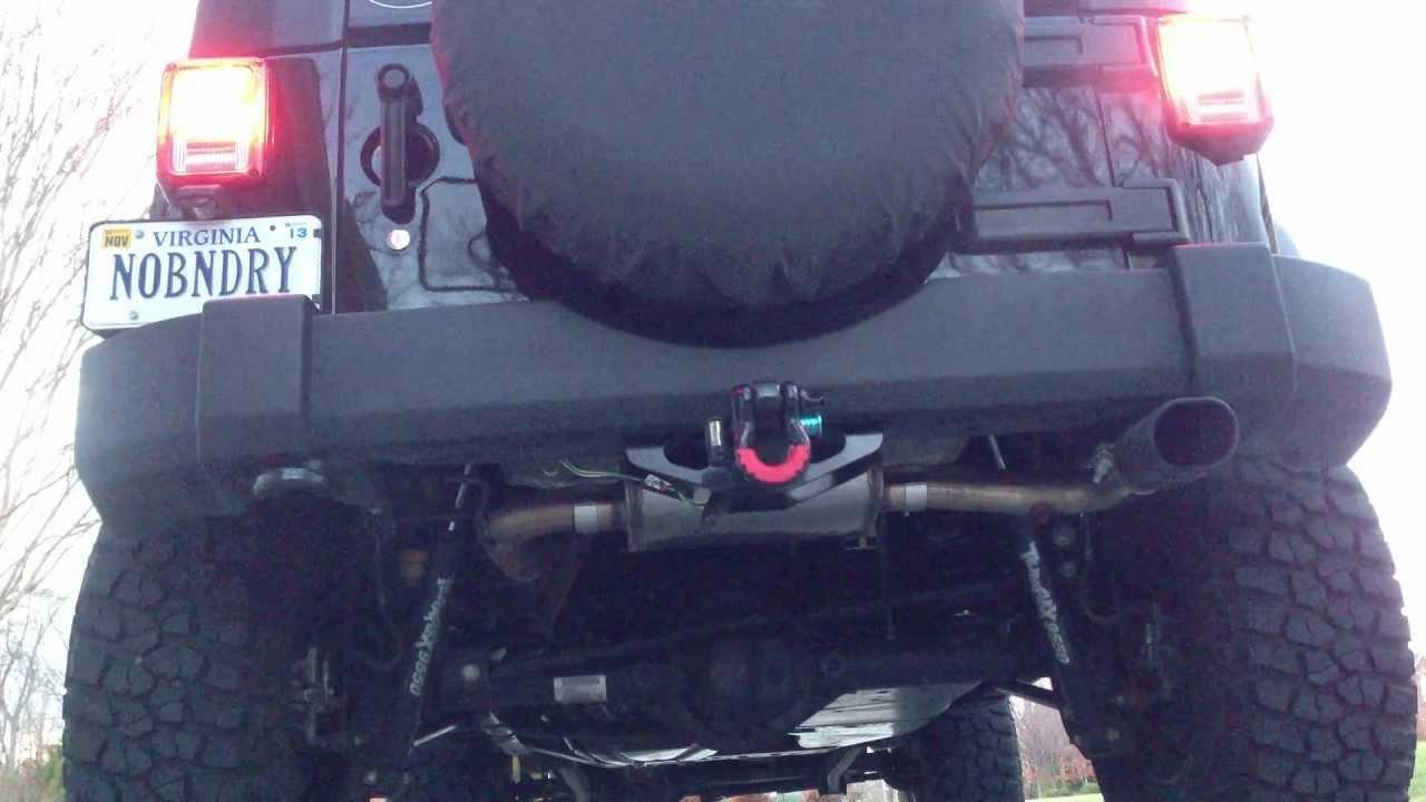 Banks monster exhaust jeep jk