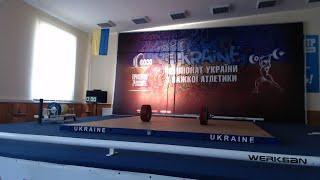 Чемпіонат України з важкої атлетики серед студентів 2018. В/к 56, 62, 69, 77, 85 кг