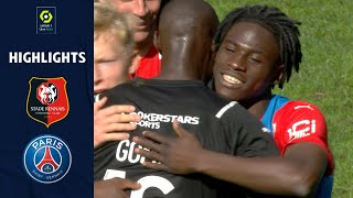 STADE RENNAIS FC PARIS SAINT GERMAIN 2 0 Highlights SRFC PSG 2021 2022