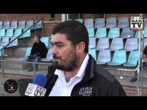 2015 NPL Post Match interview with Edgeworth Coach Damien Zane