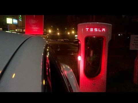Tesla Model S 60 Kwh Supercharging Speed