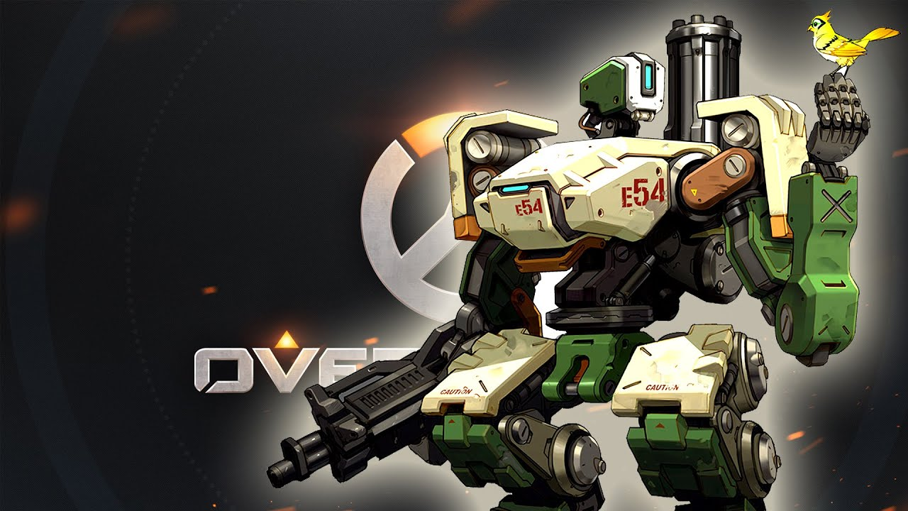 Overwatch bastion gameplay youtube - Bastion wallpaper ...