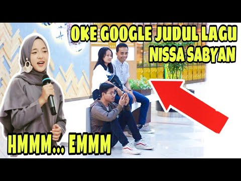 NGAKAK!!! PRANK LAGU NISSA SABYAN HMMM 1 JAM DIDEPAN UMUM! - Prank Indonesia Jordan Nugraha
