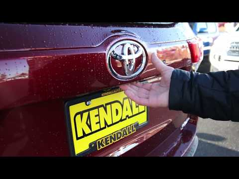 Why Your Power Back Door Won T Open With Kendall Toyota Of Bend Youtube