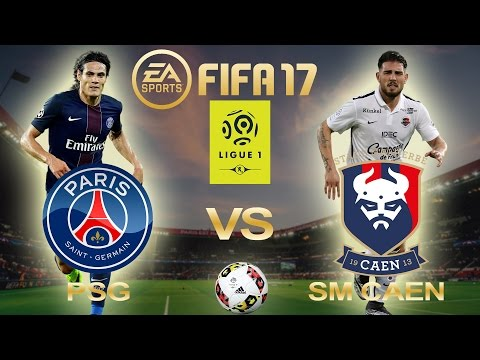 FIFA 17 | PSG Vs SM Caen | Ligue 1 2016/17 | Week 38 Predictions | PS4/Xbox Full Gameplay