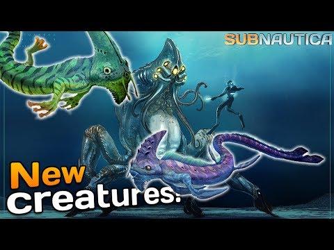 NEW Subnautica CREATURES? - Arctic DLC Concept? | Subnautica News #104