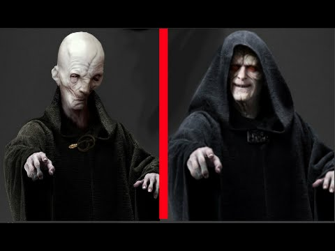 Snoke Theory? SIDIOUS WAS SNOKE ALL ALONG? PARASITIC SITH
