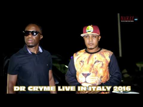DR CRYME LIVE IN ITALY 2016