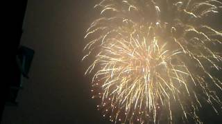 Рязань Новый год 2017 Салют пл Победы