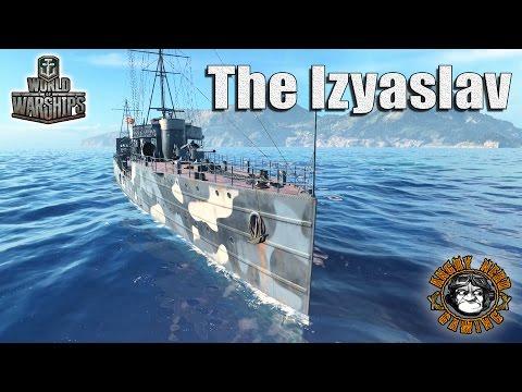 World of Warships: The Izyaslav