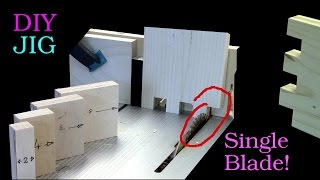Baixar How to Make Finger Joints on a Table Saw with a Single Blade