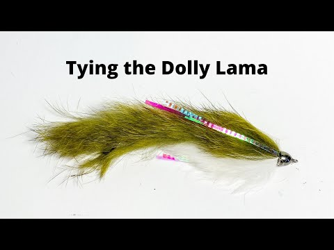 Fly Tying The Dolly Lama Streamer For Large Trout & Salmon