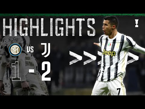 Inter 1-2 Juventus | Ronaldo Double Completes Comeback Win! | Coppa Italia Highlights